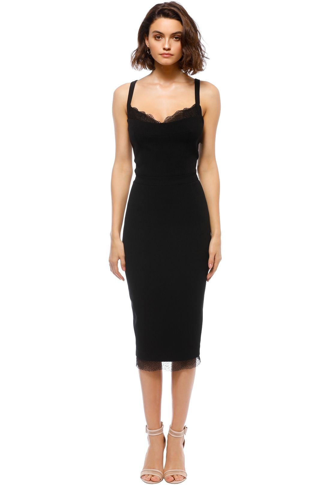 Rebecca Vallance - Demoiselles Dress - Black - Front
