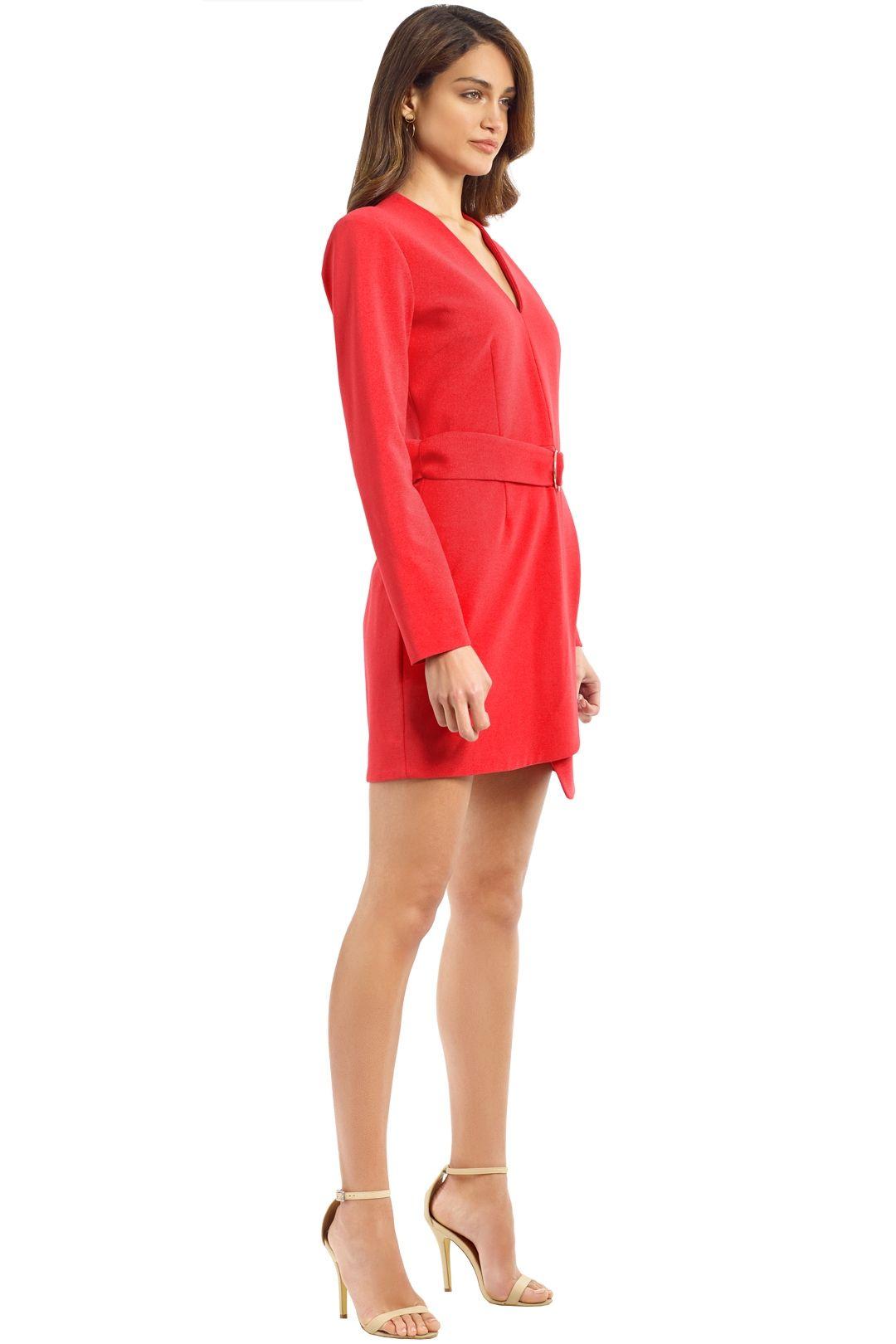 Rebecca Vallance - Domingo V LS Mini Dress - Calyspo - Side