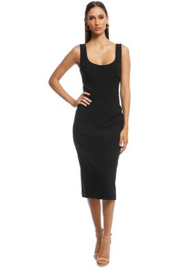 Rebecca Vallance - Eddie Dress - Black - Front