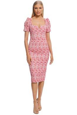 Rebecca Vallance - Estelle Dress - Ivory Floral