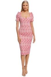 Rebecca Vallance - Estelle Dress - Ivory Floral - Front