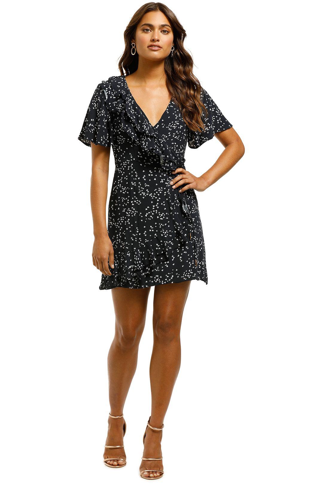 Rebecca Vallance - Flores Wrap Dress - Front