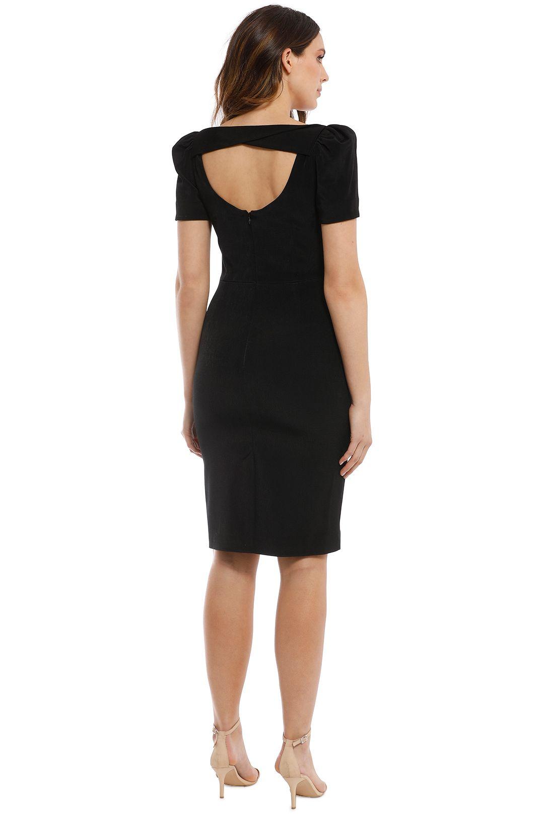 Rebecca Vallance - Ivy Dress - Black - Back