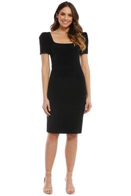 Rebecca Vallance - Ivy Dress - Black - Front