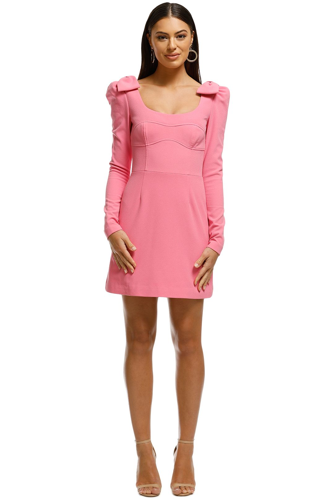 Rebecca Vallance - Love Mini Dress - Pink - Front