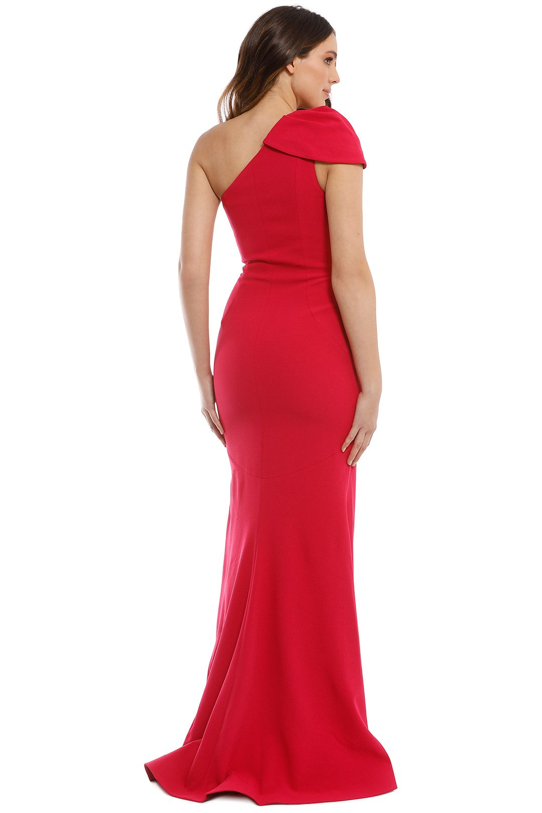 Rebecca Vallance - Poppy Gown - Red - Back