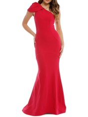 Rebecca Vallance - Poppy Gown - Red - Front