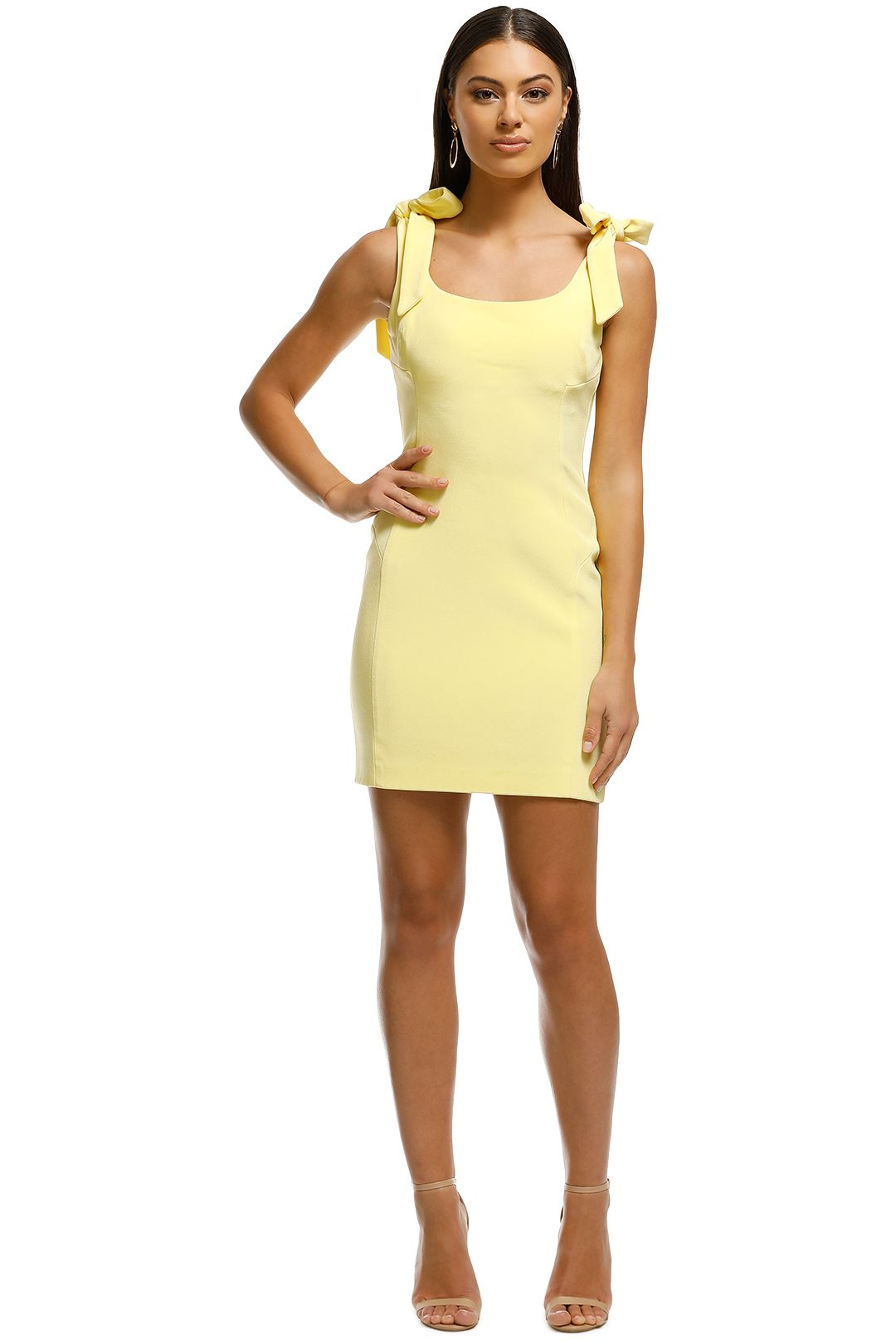 Rebecca Vallance - Zinnia Mini Dress - Yellow - Front
