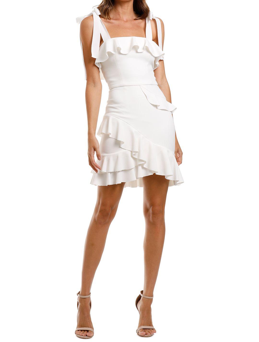 Rebecca Vallance Aegean Mini Dress White