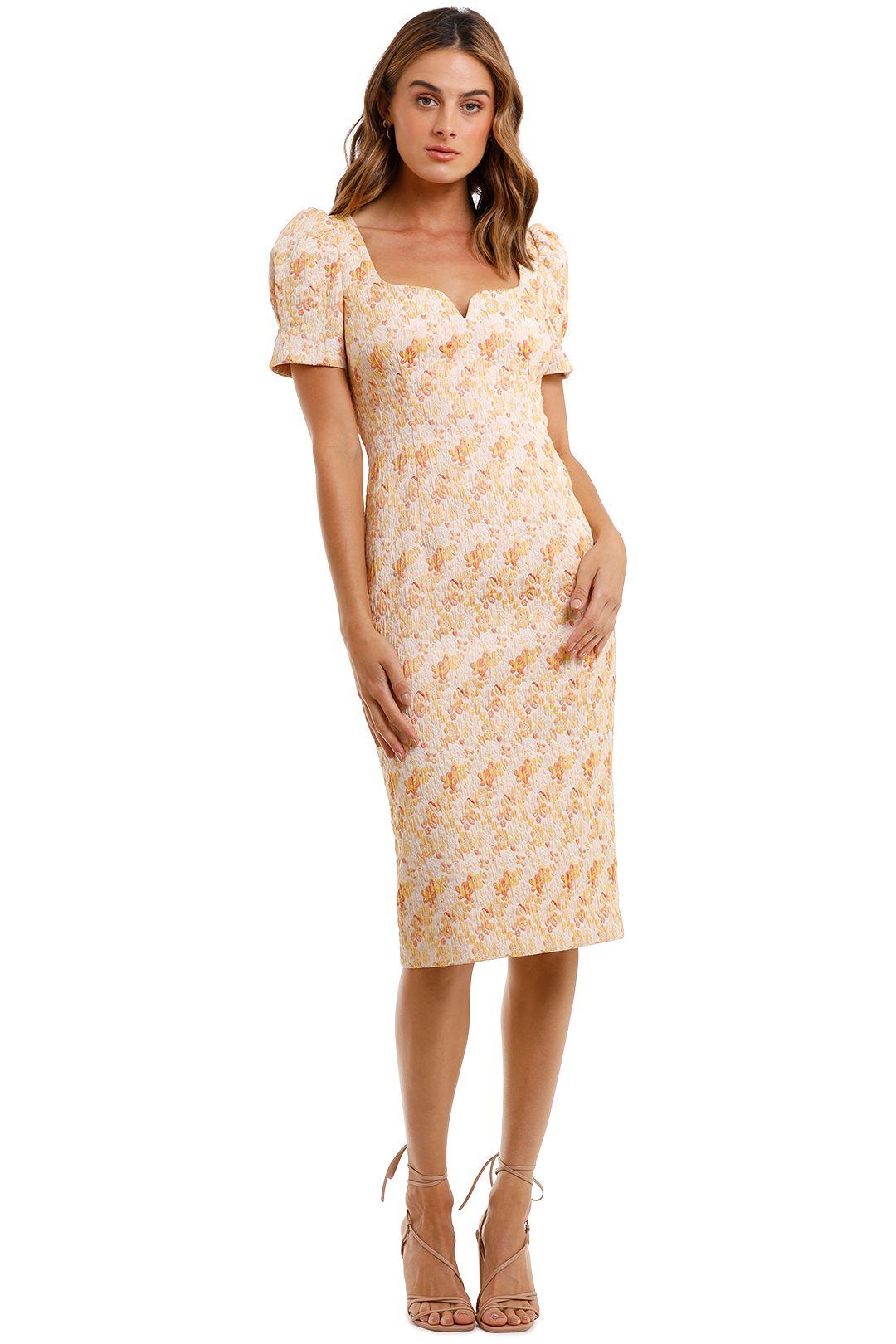 Rebecca Vallance Amber Midi Dress floral print