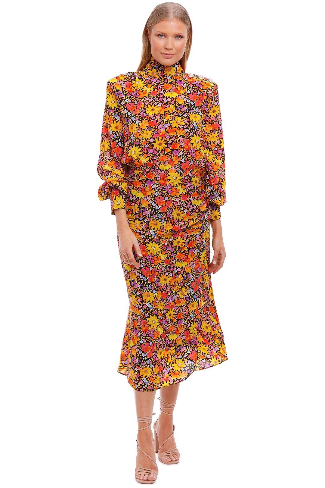 Rebecca Vallance Arles Midi Dress Print