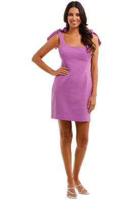 Rebecca Vallance Dahlia Mini Dress Purple