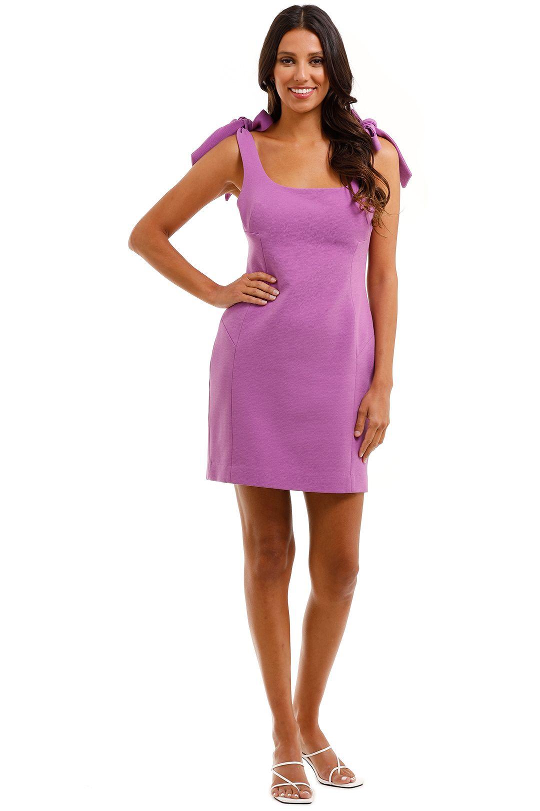 Rebecca Vallance Dahlia Mini Dress Purple