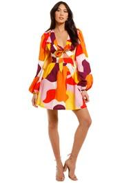 Rebecca Vallance Del Rio Mini Dress print