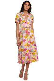 Rebecca Vallance Garda Short Sleeve Midi