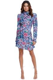 Rebecca Vallance La Violetta Mini Dress Blue