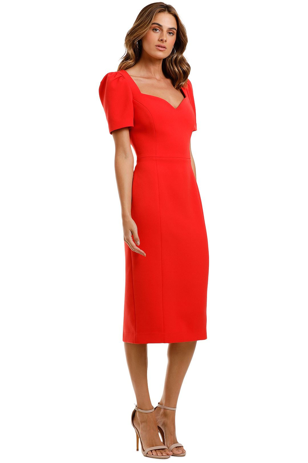 Rebecca Vallance Lamour Dress Red