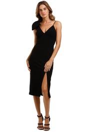 Rebecca Vallance Love Bow Dress Black