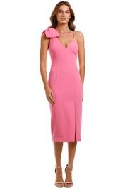 Rebecca Vallance Love Bow Dress Pink