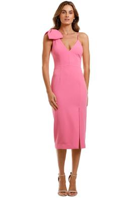Rebecca Vallance Love Bow Dress Pink