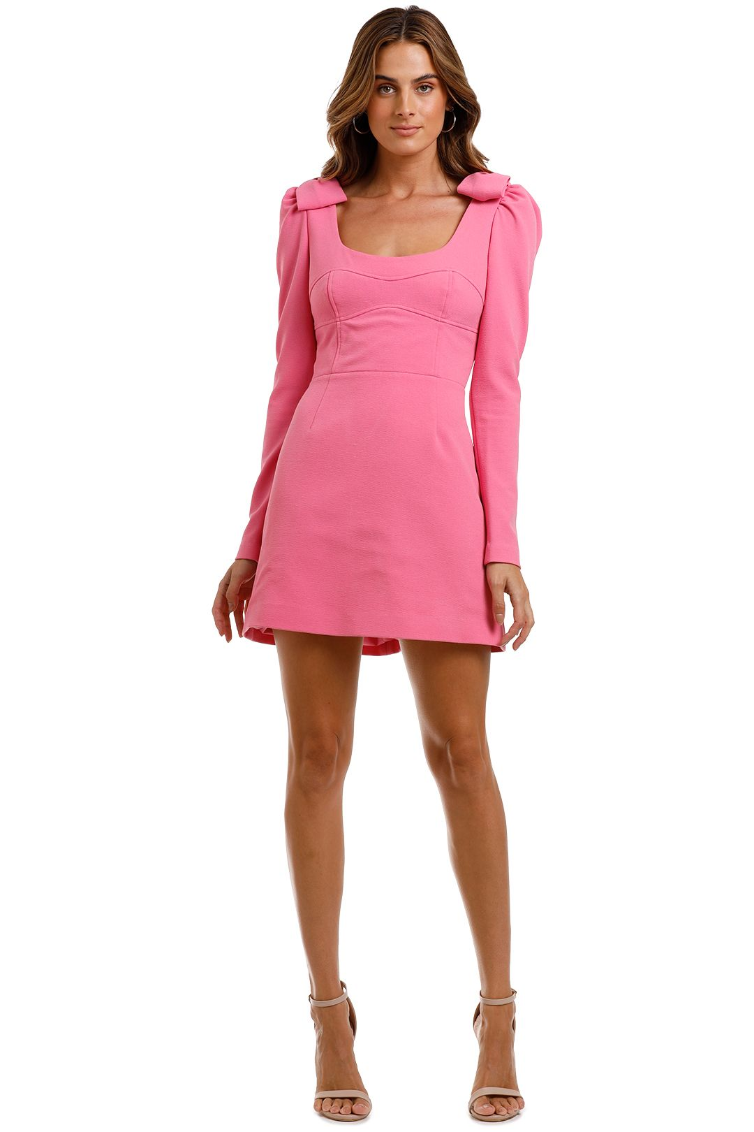 Rebecca Vallance Love Mini Dress Pink
