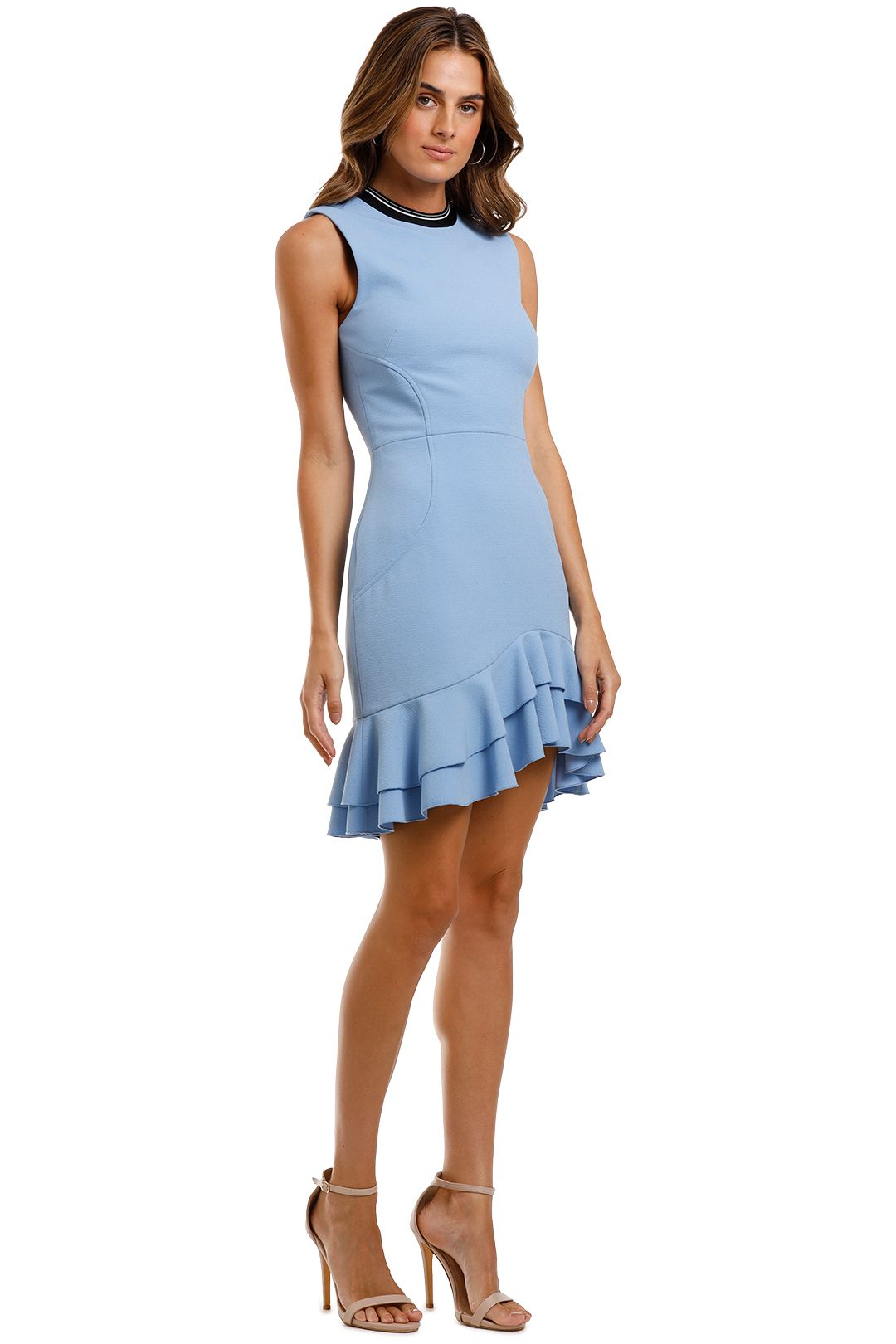 Rebecca Vallance Yves Mini Dress Blue Sleeveless