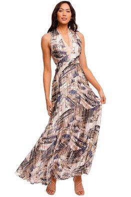 REISS - Marble Maxi Dress
