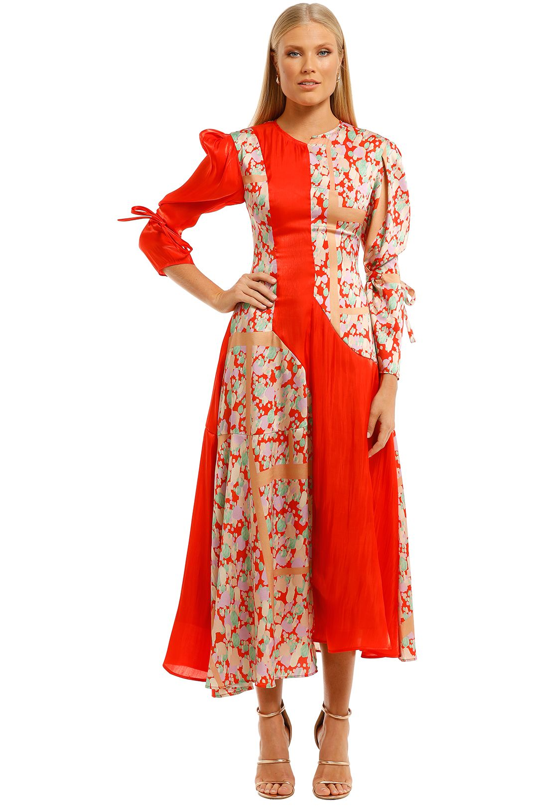 Rejina-Pyo-Tanika-Dress-Silk-Twill-Print-Mix-Front