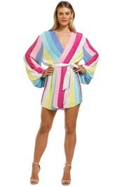 Retrofete-Gabrielle-Robe-Dress-Unicorn-Stripes-Front