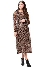 Ripe-Maternity-Tabby-Crop-Top-Nursing-Dress-Multi-Front