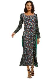 Rixo-London-Selina-Floral-Print-Dress-Front