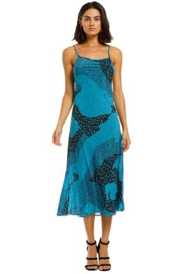 Rixo-London-Sylvie-Dress-Blue-Front