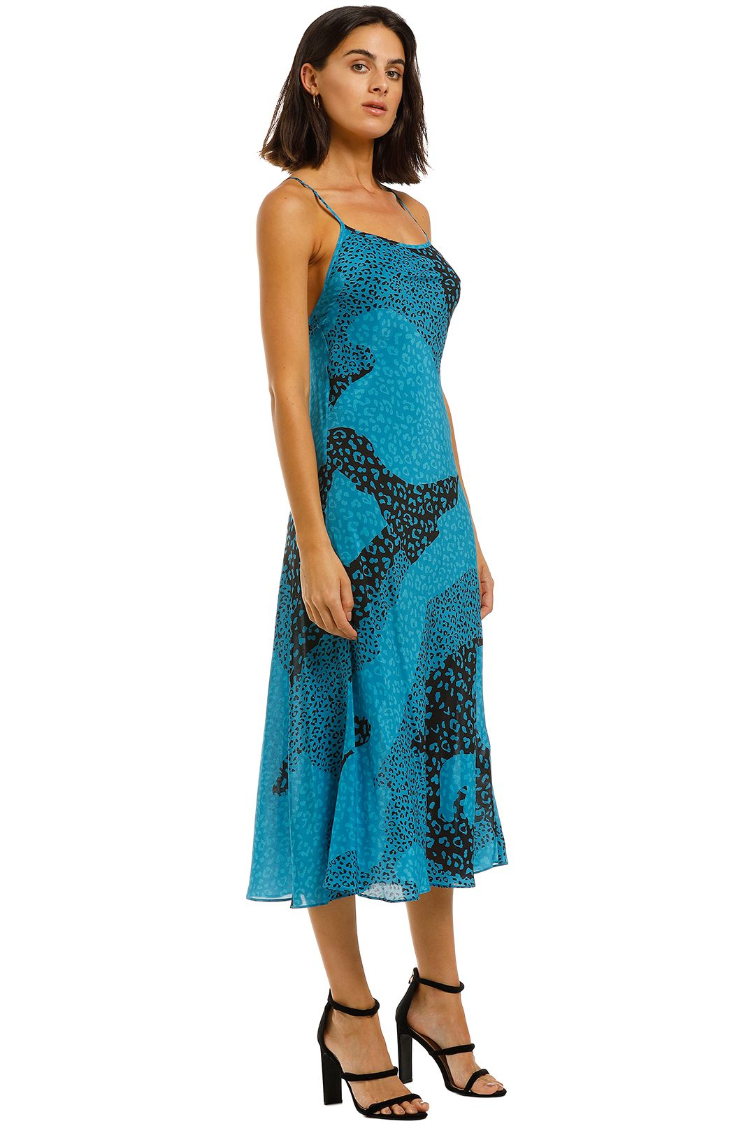 Rixo-London-Sylvie-Dress-Blue-Side