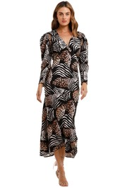 Rixo London Animal Kingdom Dress