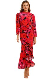 Rixo London Dani Mystic Bloom Maxi Dress