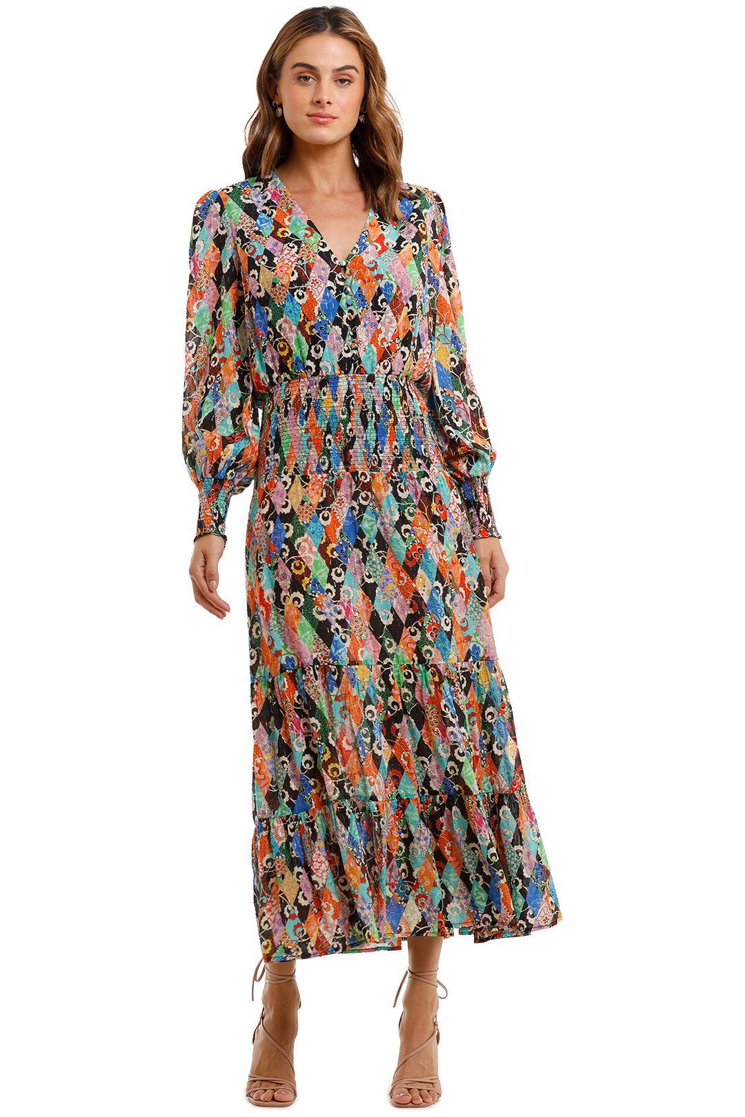 Rixo London Maya Maxi Dress