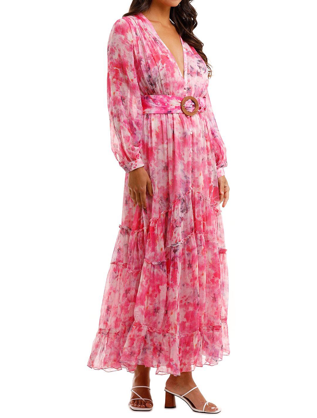 Rococo Sand Hikari Dress Pink floral