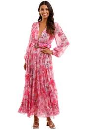 Rococo Sand Hikari Dress V neckline