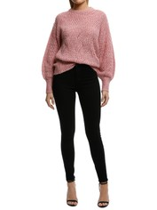Rodeo Show-Claudie Knit-Pink-Front