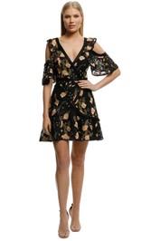 Rodeo Show-Danni Mini Dress-Black-Front