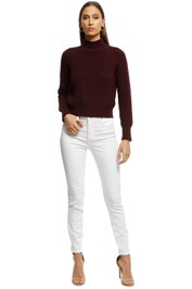 Rodeo Show - Adriana Knit - Plum - Front