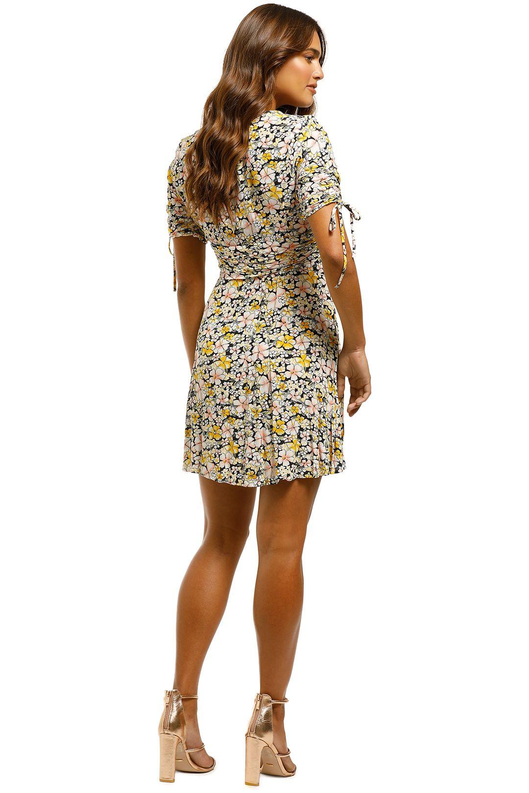 Rodeo Show - Billie Mini Dress - Floral - Back