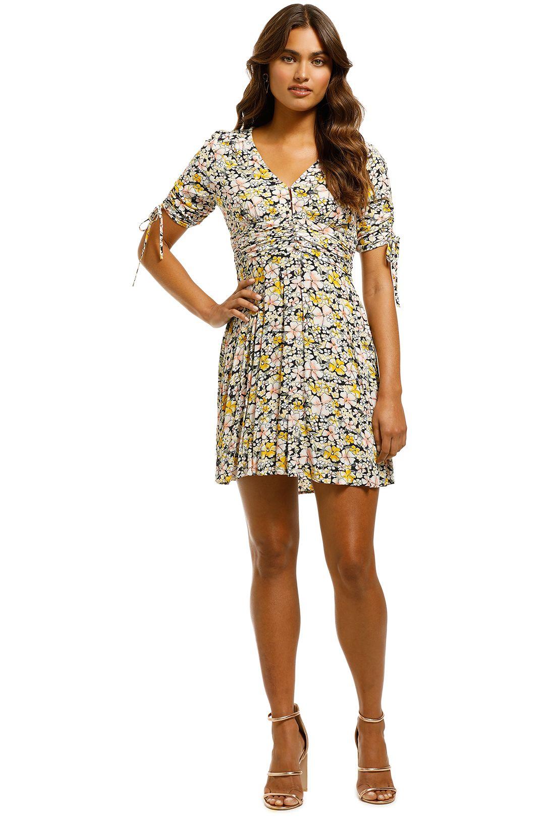 Rodeo Show - Billie Mini Dress - Floral - Front