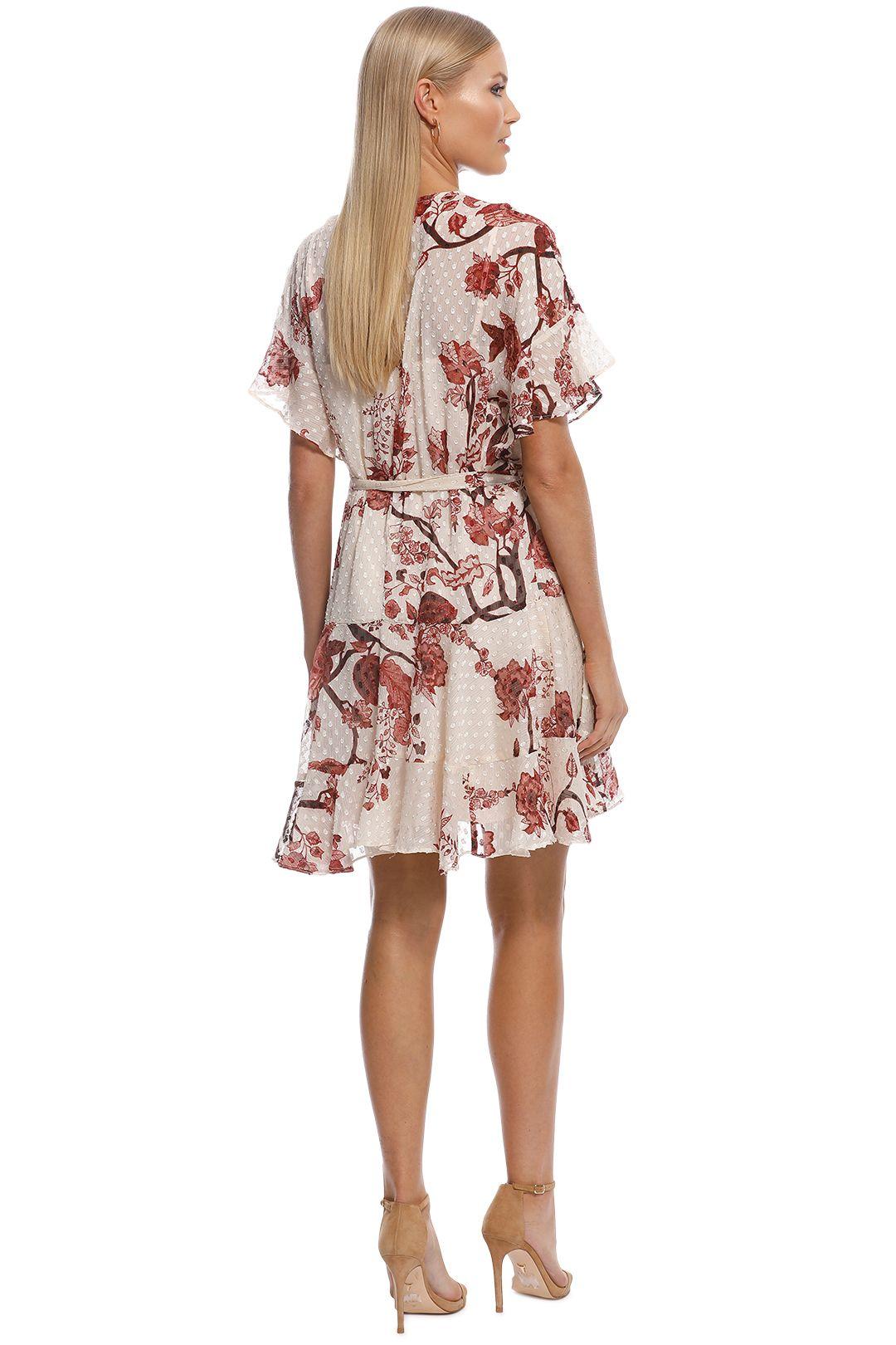 Rodeo Show - Carmel Mini Dress - Brown - Back
