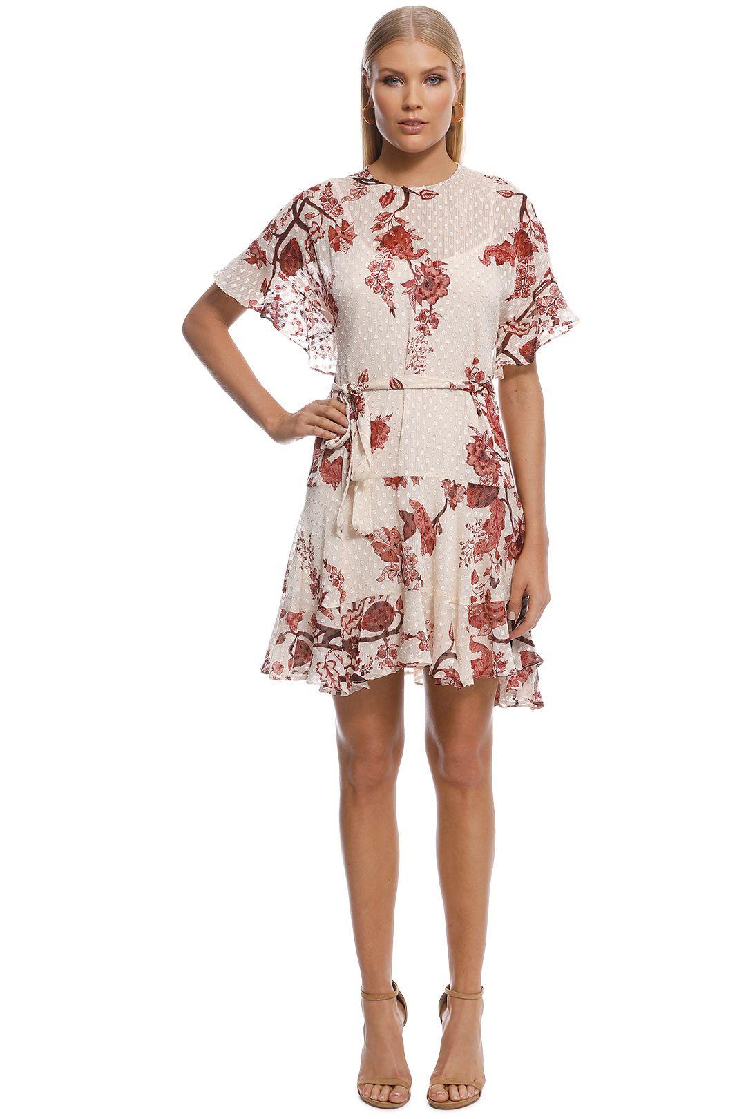 Rodeo Show - Carmel Mini Dress - Brown - Front