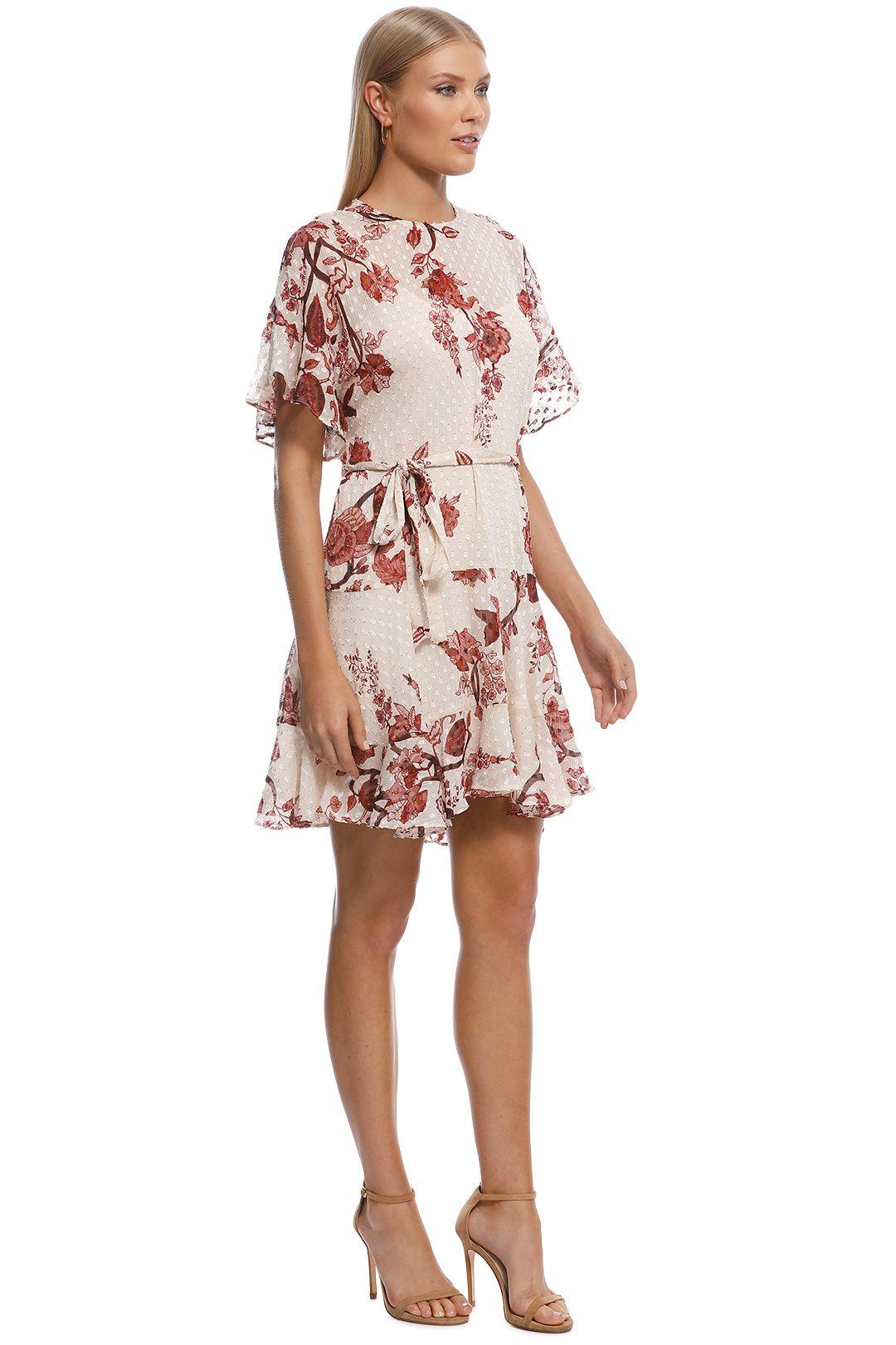 Rodeo Show - Carmel Mini Dress - Brown - Side