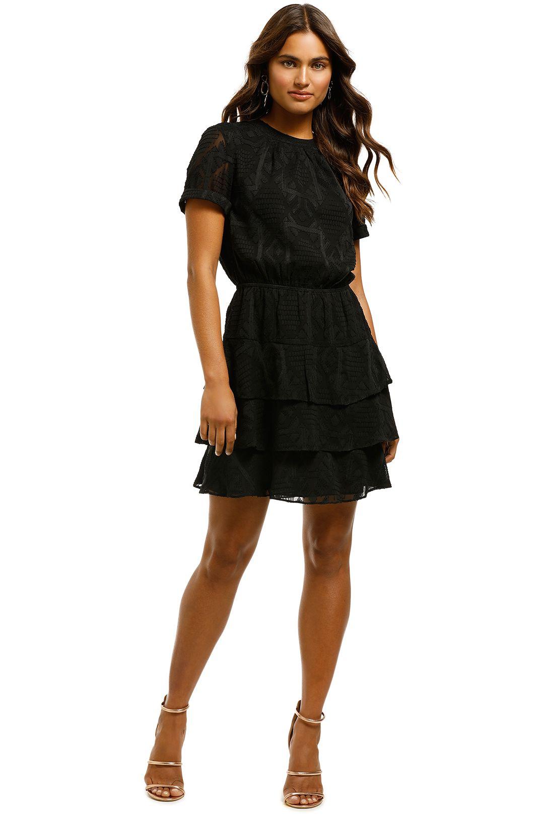 Rodeo Show - Milo Mini Dress - Black - Front