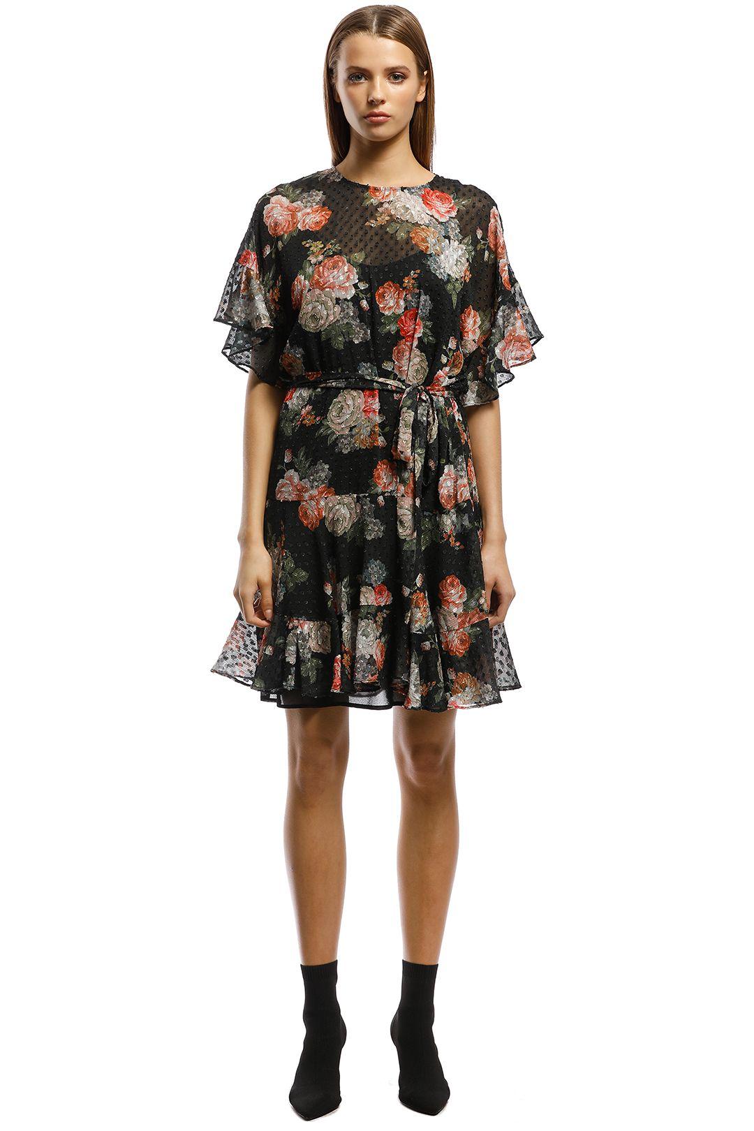 Rodeo Show - Sicily Mini Dress - Black - Front