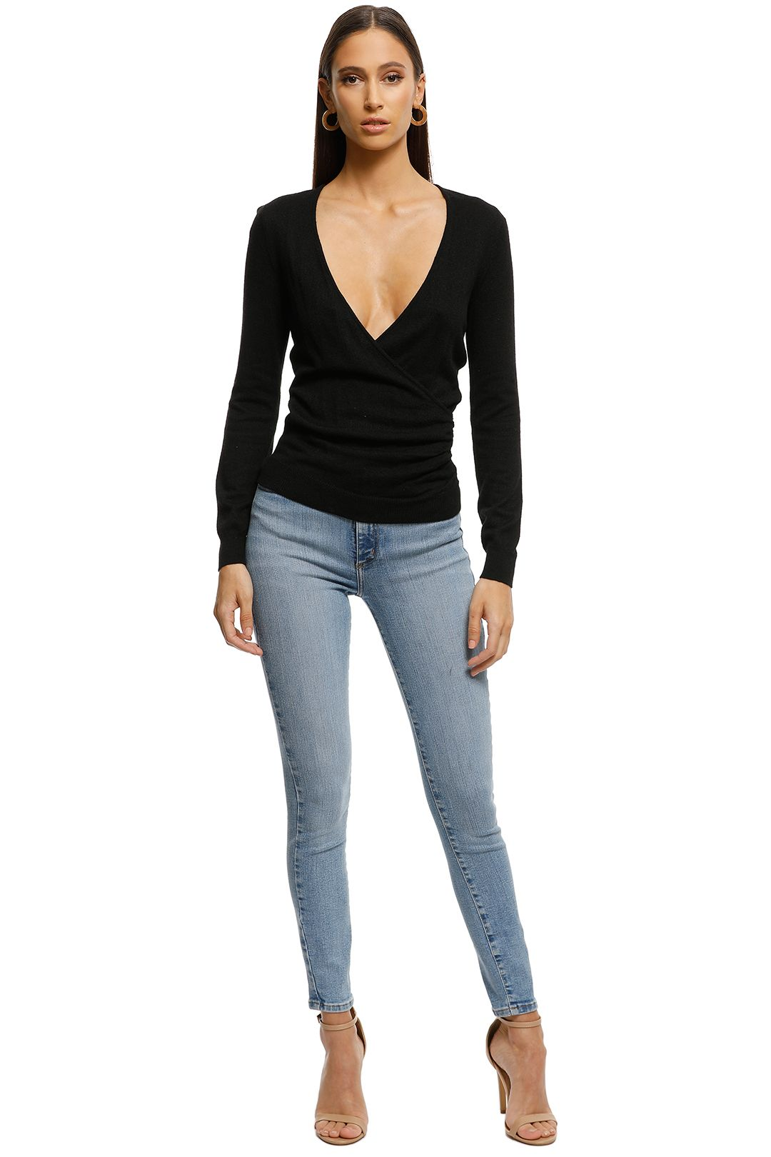 Rodeo Show - Stevie Knit - Black - Front