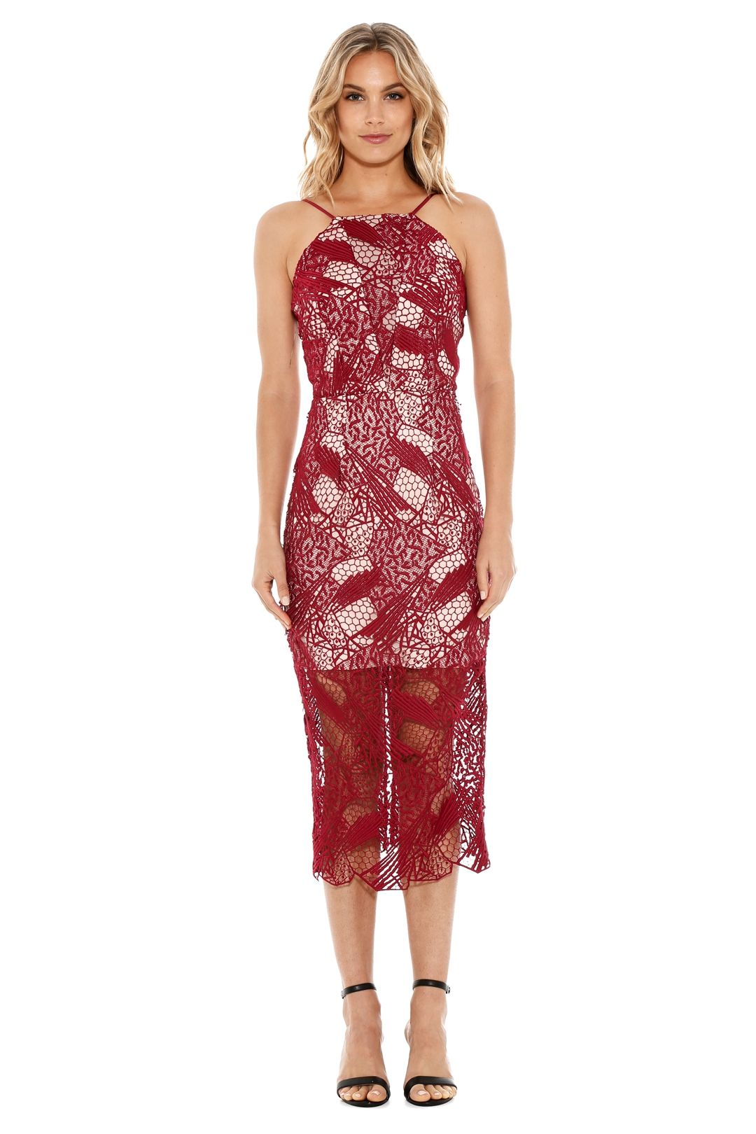 Rodeo Show - The Gwendolyn Dress - Canberry - Front